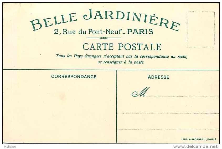Ref 707- Magasin Belle Jardiniere -paris -dessin Illustrateur - Le Thé -souvenir De La Belle Jardiniere-carte Bon Etat - - Magasins