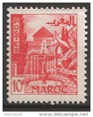 MAROC N° 284 NEUF - Nuovi