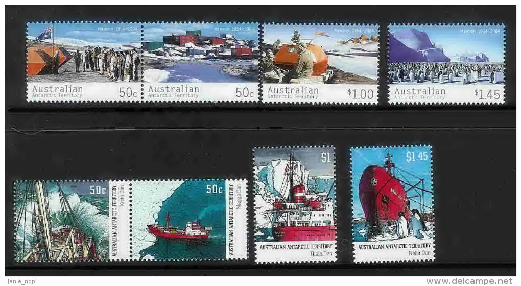 Australian Antarctic Territory 2003-2004 Years - Australian Antarctic Territory (AAT)