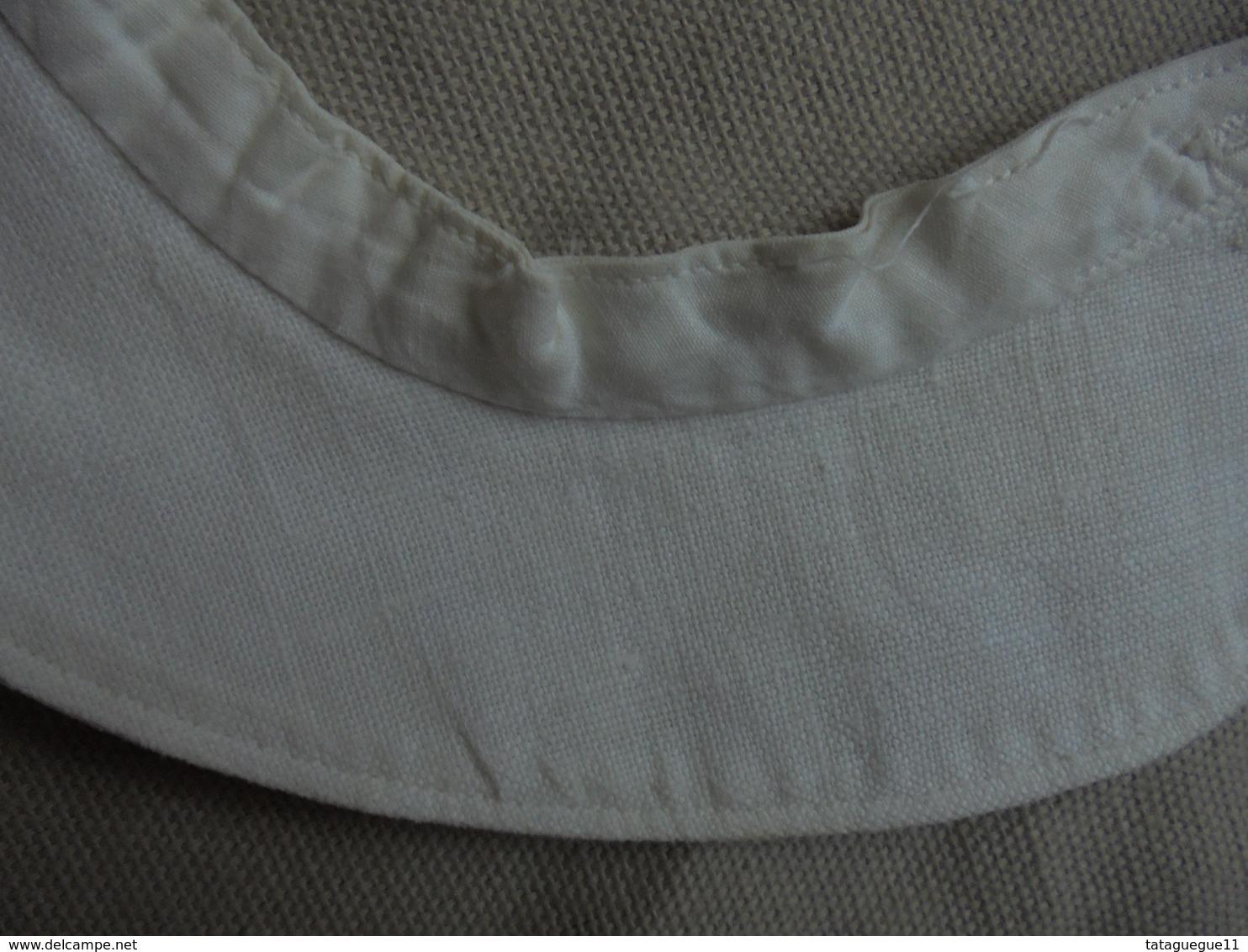 Ancien - Col De  Pour Bébé/baigneur/poupée En Coton Blanc - Bambini
