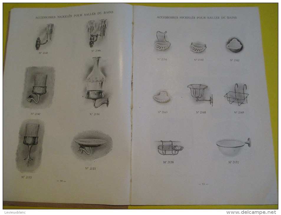 Appareils Sanitaires/ Compagnie Anglaise/The Paris Earthenware C° Ltd/LONDON/1930  (1924)       CAT54 - Catalogues