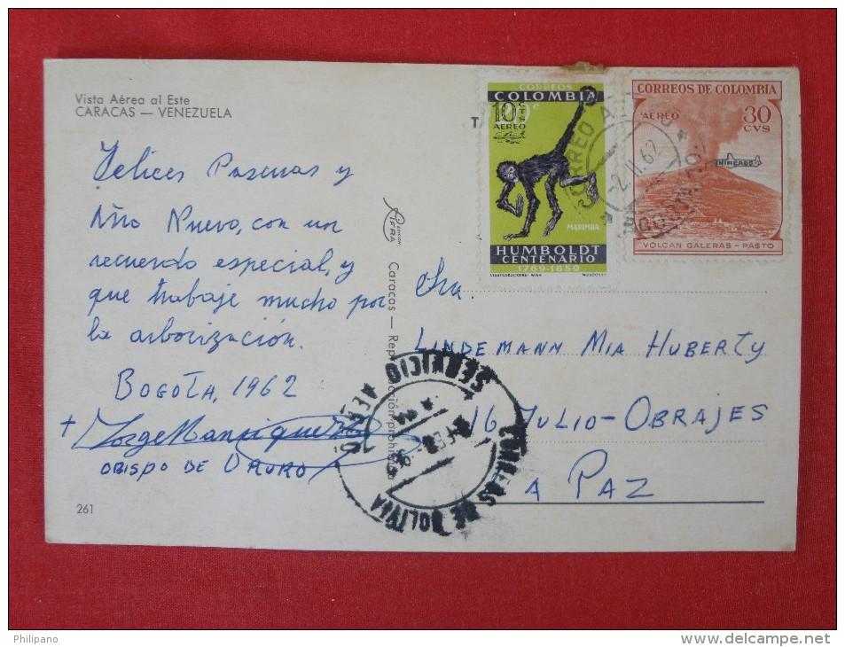 Carcas Venezuela  Has Stamp & Cancel Ref 1203 - Venezuela