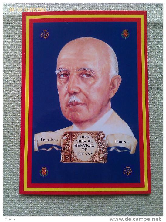 Postal General Francisco Franco. España - Militaria