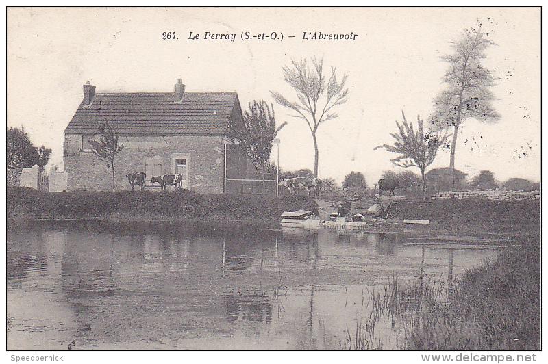 23249 LE PERRAY L 'abreuvoir -editeur 264lib Nouvelle Rambouillet - - Le Perray En Yvelines