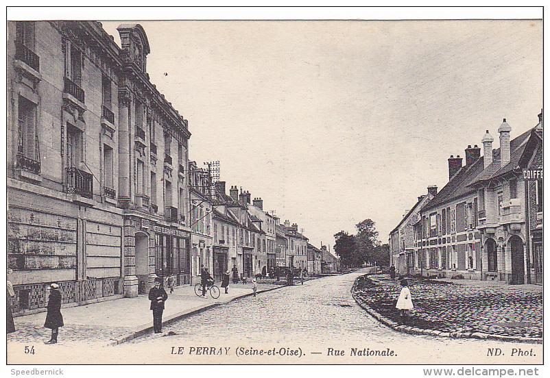 23250 LE PERRAY Yvelines Rue Nationale ND 54 -coiffeur - Le Perray En Yvelines