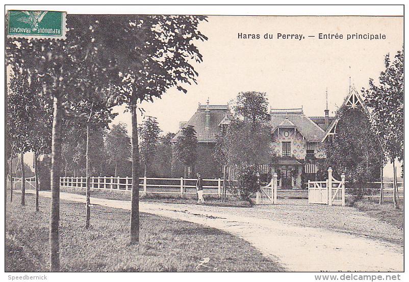 23254 LE PERRAY Haras Du Perray, Entree Principale - Ed Pelletier L P - - Le Perray En Yvelines