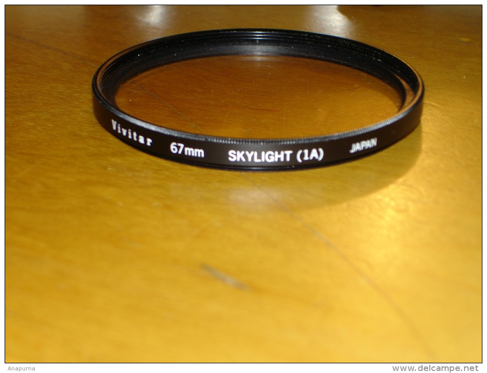 Filtre UV Vivitar 67 Mm. TBE - Fotografie En Filmapparatuur
