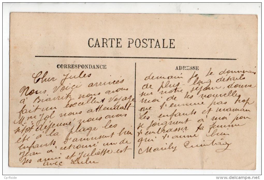 64 - BIARRITZ . LE CAFÉ ANGLAIS ET PLACE BELLEVUE - Réf. N°845 - - Biarritz