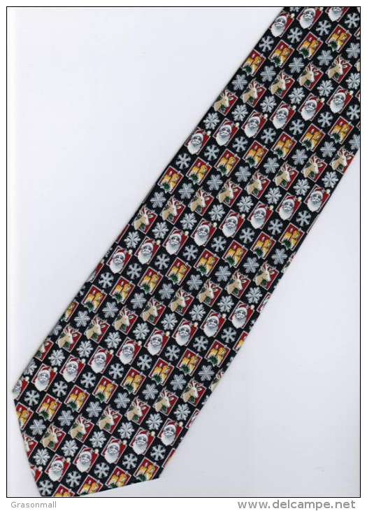 Christmas Santa Claus Xmas #29 Reindeer Silk Cartoon Novelty Fancy NECK TIE - Other Collections