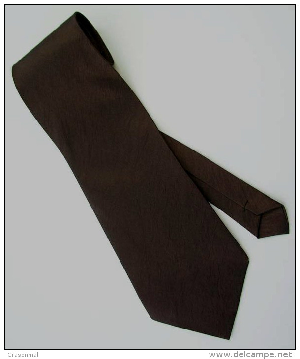 Bistre Brown Solid Glitter Thai Silk Men Formal Fashion NECK TIE - Other Collections