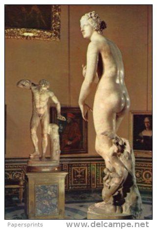 Firenze - Cartolina VENERE DE' MEDICI (Galleria Uffizi, Tribuna) - G48 - Sculture