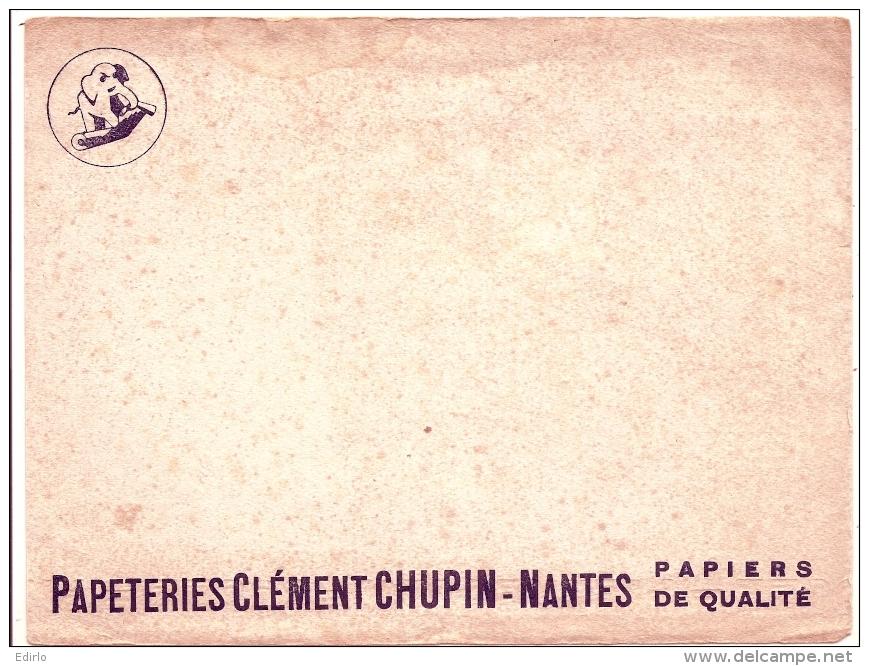 - BUVARD PAPETERIE  - Clément Chupin Nantes - Rousseurs - Papeterie