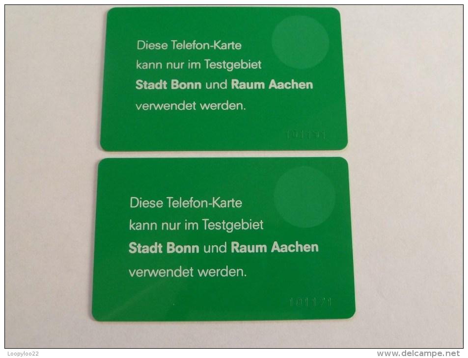 GERMANY - 1st Prototypes With 6 Digit Controls - Mint - Approx 30 Pairs Made!!! RRRRRRRRRRR - T-Series : Tests
