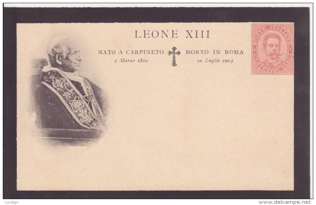 In Ricordo Della Morte Di Papa Leone XIII. 1903 - Eventi
