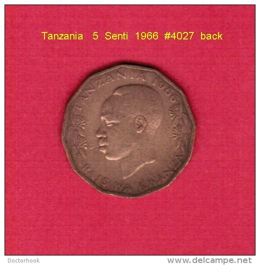 TANZANIA   5  SENTI  1966 (KM # 1) - Tansania