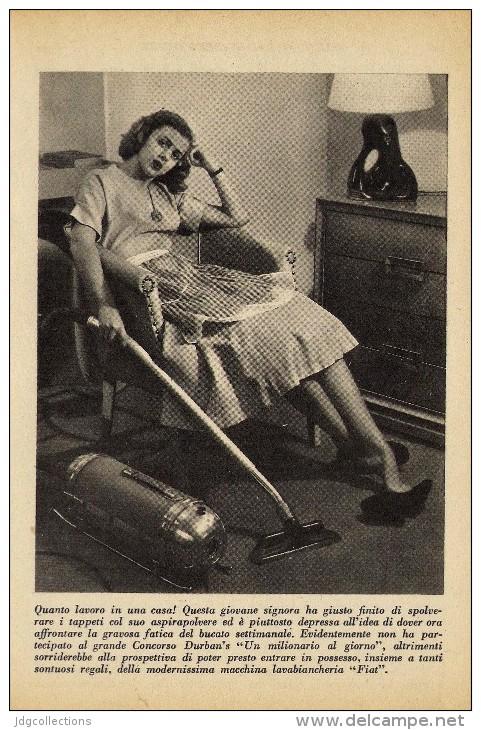 # DENTIFRICIO DURBAN´S 1950s Advert Pubblicità Publicitè Reklame Toothpaste Zahnpaste Oral Dental Healthcare - Attrezzature Mediche E Dentistiche