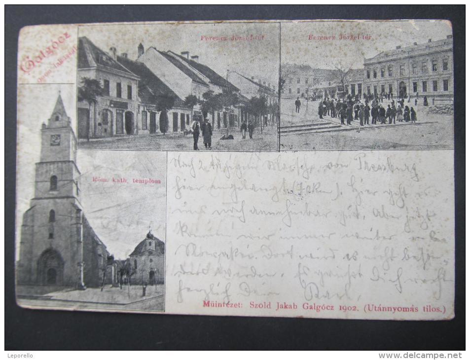 AK GALGOCZ HLOHOVEC 1900 //  D*11168 - Slowakei
