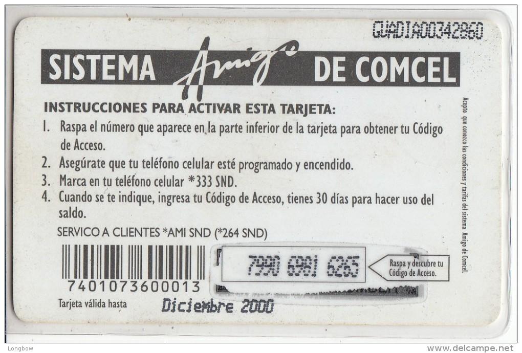 GUATEMALA - TACO BELL COMCEL Q50 -Used - Guatemala