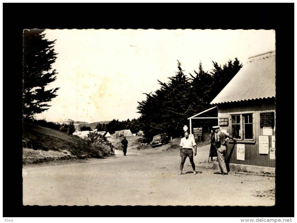 35 - SAINT-COULOMB - L´Entrée Du Camping De La Guimorais Et Au Fond, L´Auberge De Jeunesse - 3 - Saint-Coulomb