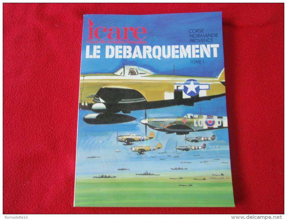Revue ICARE - LE DEBARQUEMENT - Aviación