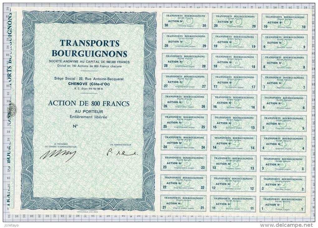 Transports Bourguignons à Chenove (Blanquette) - Transports