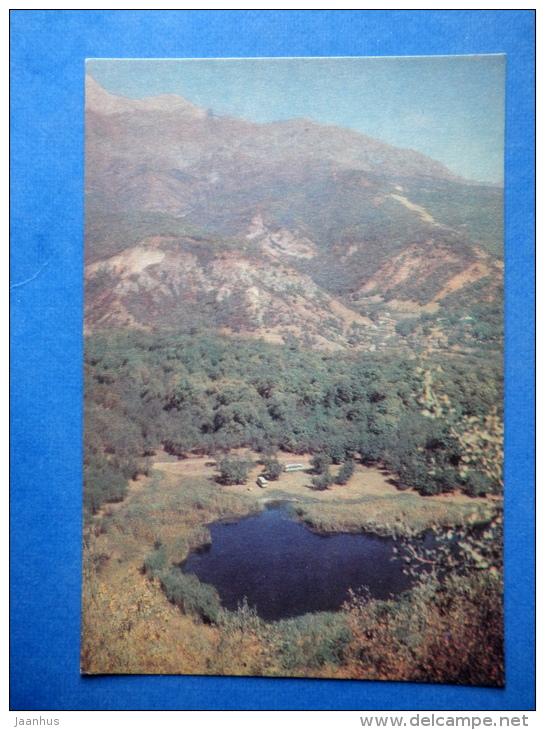 Arslan-Bob - Mountain Lake - Nature Of Kyrgyzstan - 1969 - Kyrgyzstan USSR - Unused - Kirghizistan