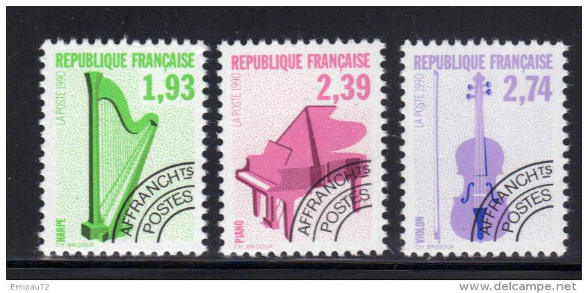 FRANCE- Préoblitérés N°210 à 212- Neufs Sans Charnière ** - Preobliterati