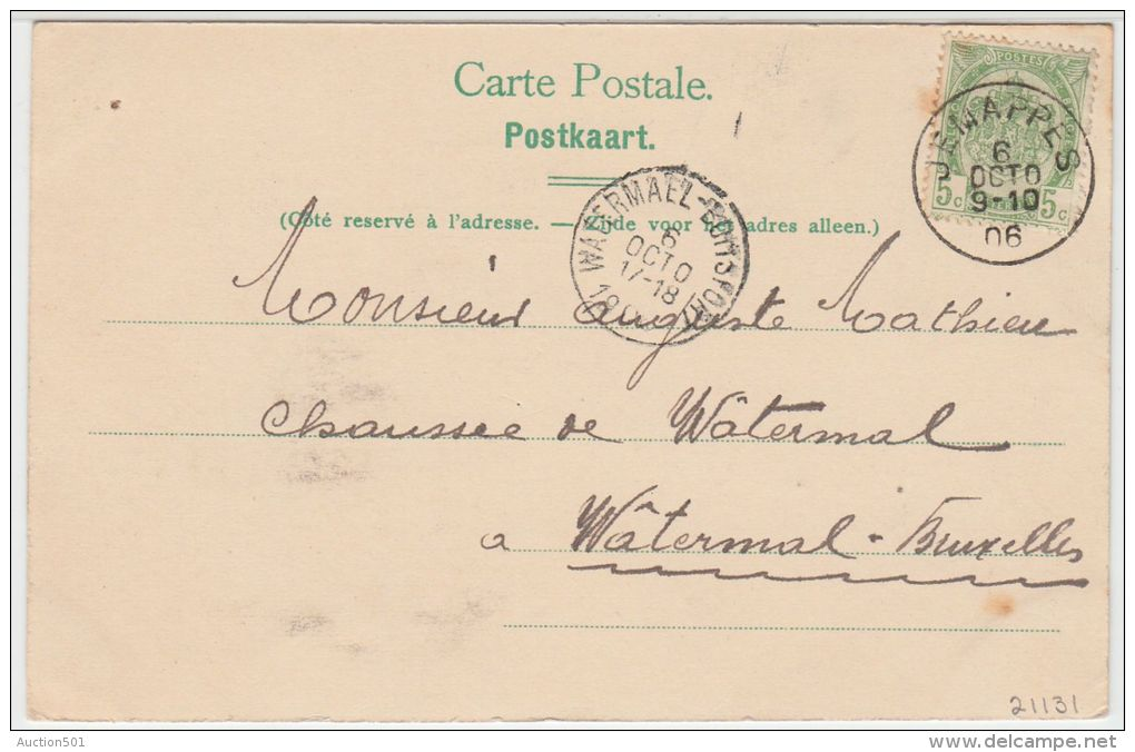 21131g CHARBONNAGE - Jemappes - 1906 - Mons