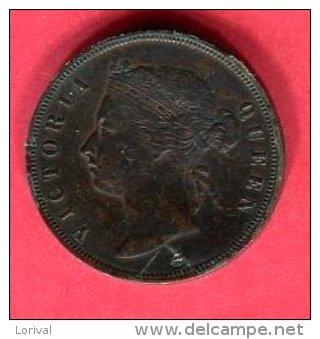 VICTORIA 1 CENT 1883 TB 13 - Malaysie
