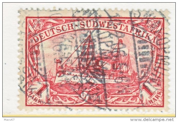 Germany South West Africa  22   (o)   SWAKOPMUND  Type  IV  Cd. - Colony: German South West Africa