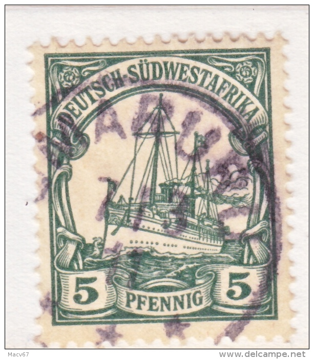 Germany South West Africa  27   (o)   Wmk.  OMARURU  Type I - Colony: German South West Africa