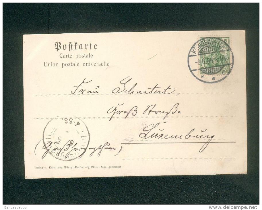 AK - Gruss Von Königswinter ( Verlag V. Edm. Von König ) - Koenigswinter