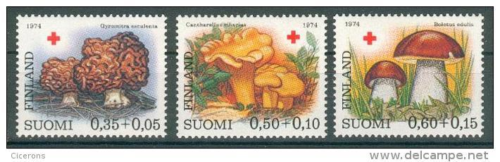 Collection FINLANDE ; FINLAND ; 1974 ; Lot 19 ; Y&T N° 717 à 719 ;  Neuf  Ttbe - Finlande