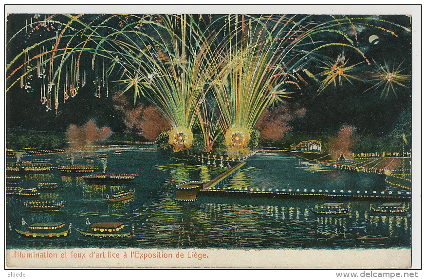 Exposition Feu Artifice Firework Edit H. Gerland - Liege