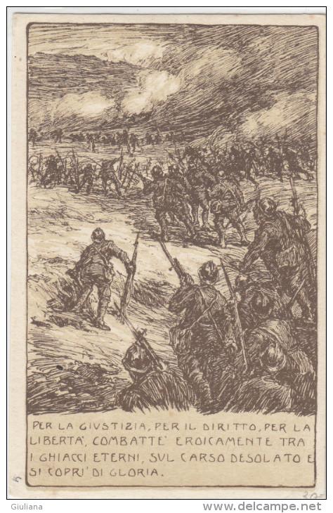 Cartolina Postale Italiana In Franchigia-Timbro 13^ Corpo D'Armata, Stato Maggiore - 1900-44 Vittorio Emanuele III
