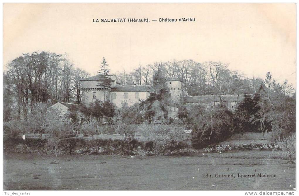 34 - La Salvetat - Château D'Arifat - La Salvetat