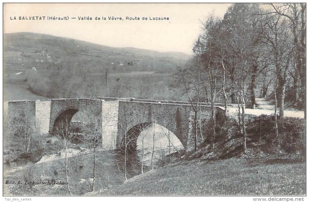 34 - La Salvetat - Vallée De La Vévre, Route De Lacaune - La Salvetat
