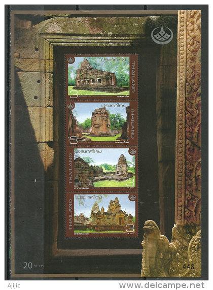 Monuments Khmers De Ta Muean Thom. ( Frontière Thaï-Cambodge) Un Bloc-feuillet Neuf ** De THAÏLANDE - Thaïlande