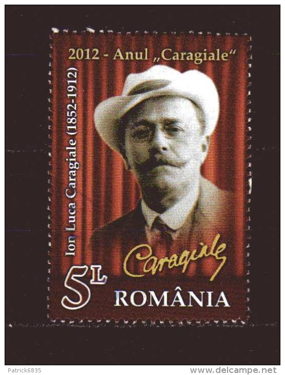 Romania - ° 2012 -  Anul Caragiale - 1948-.... Repubbliche