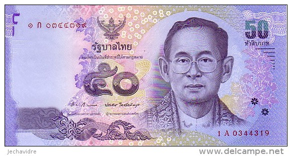 THAÏLANDE   50 Bath  Emission De 2011            ***** BILLET NEUF ***** - Tailandia