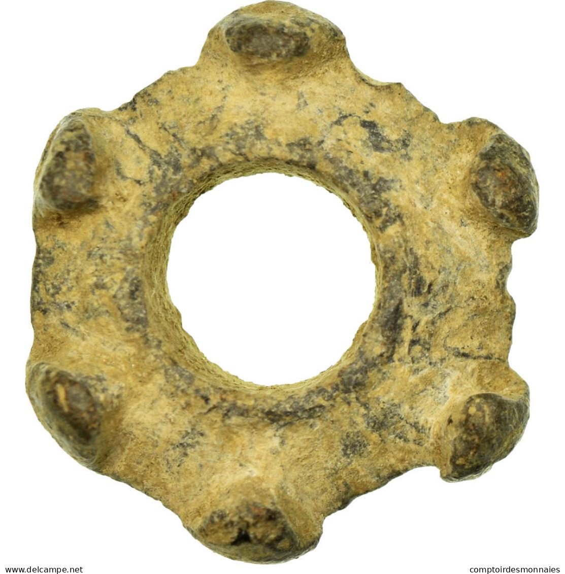 Monnaie, Other Ancient Coins, Rouelle, TTB+, Lead - Monnaies Antiques