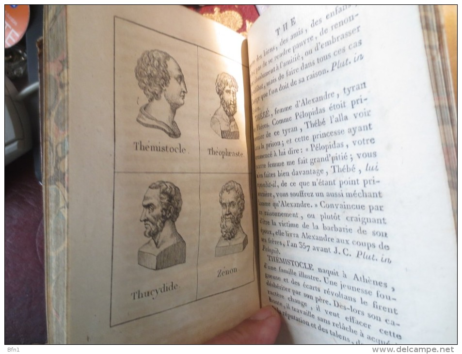 Le Plutarque De L´Enfance, 1816-  Maximes Et Traits Historiques  - VOIR PHOTOS - 1801-1900