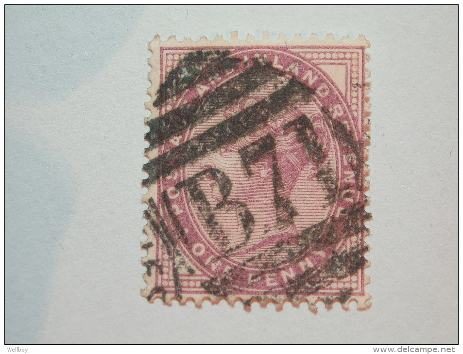 A Nice B71 Post Mark On 1 Penny Sg 172 - 1840-1901 (Victoria)