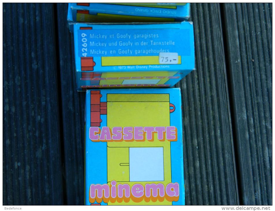Minema - Meccano Cassette N° 42609 - Mickey Et Goofy Garagistes - Walt Disney - 1973 - Proyectores De Cine
