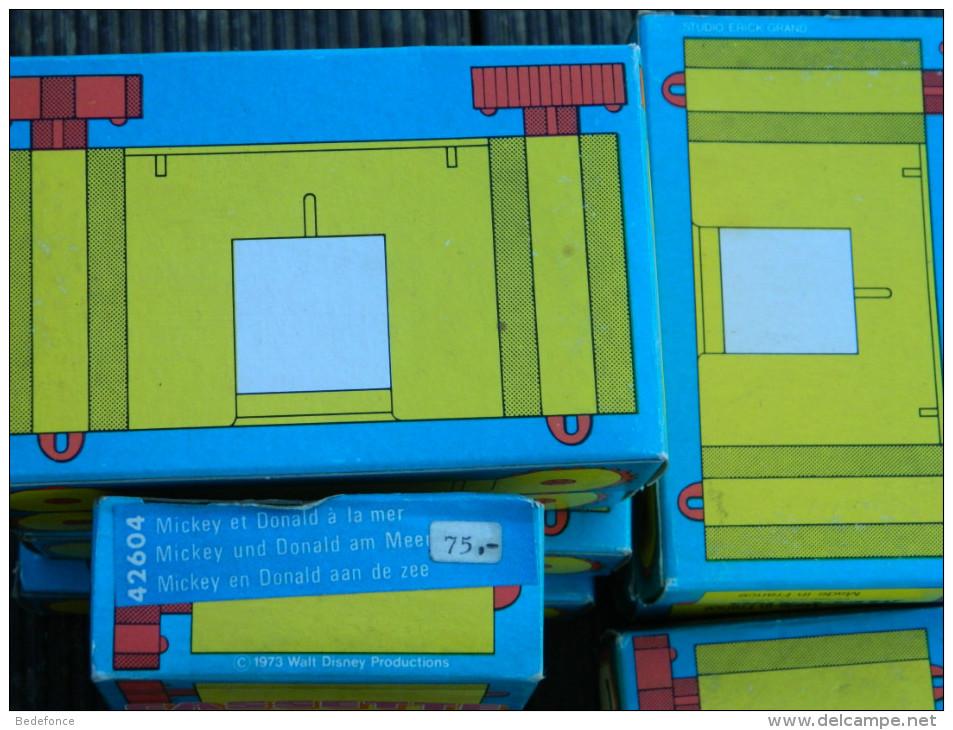 Minema - Meccano Cassette N° 42604 - Mickey Et Donald à La Mer - Walt Disney - 1973 - Proyectores De Cine