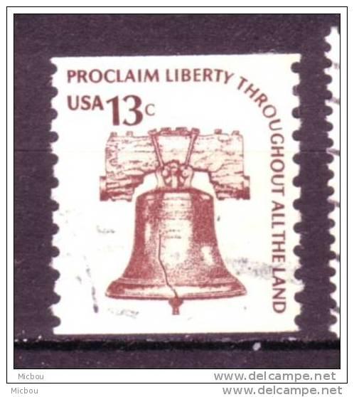 ##6, USA, Cloche De La Liberté, Liberty Bell - Gebruikt