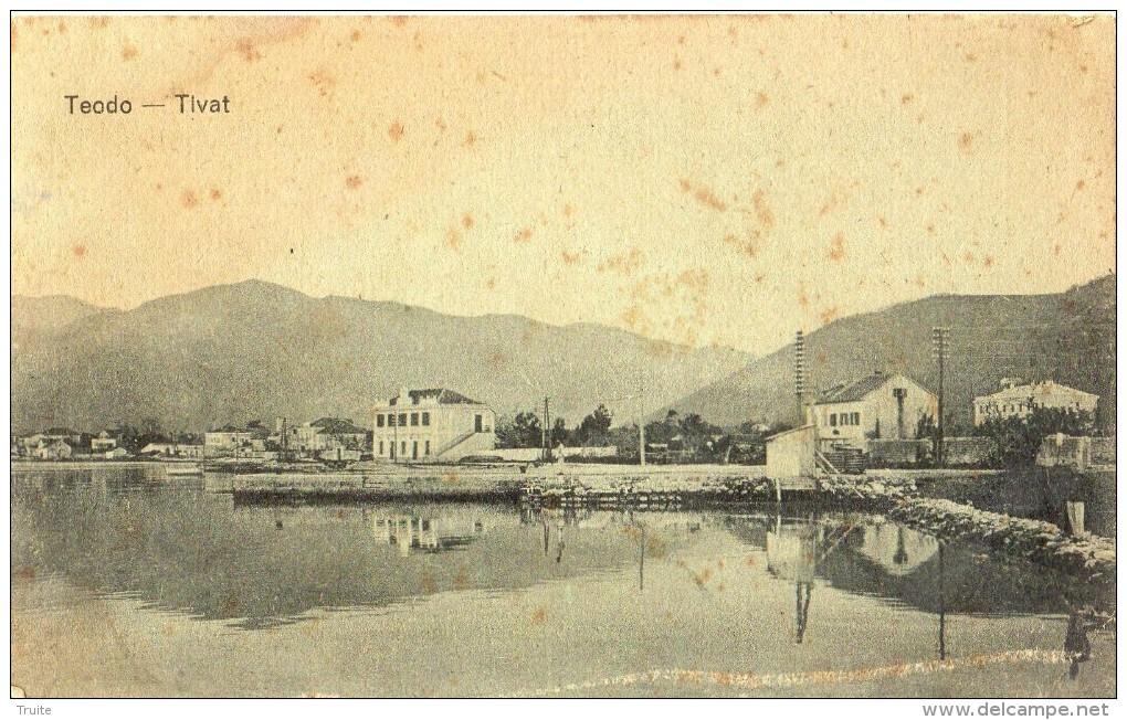 TEODO TIVAT EN 1919 RARE - Montenegro