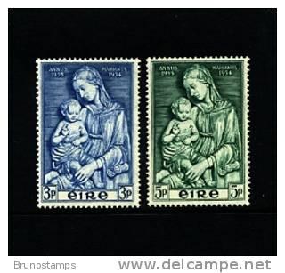 IRELAND/EIRE - 1954  MARIAN YEAR  SET  MINT NH - Nuovi