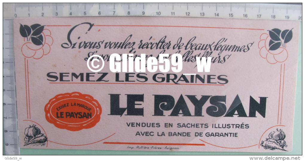 Buvard Semez Les Graines LE PAYSAN - 2 - Agriculture