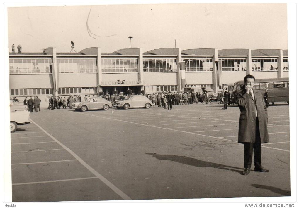 Photo Véritable -  STUTTGART -  NECKARSTADION  -  Entrée Du Stadium  -   Années 1940/1950  - PHOTO  RARE. - Lieux